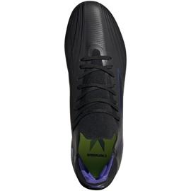 Buty piłkarskie adidas X Speedflow.2 Fg M FY3288 czarne czarny, czarny, fioletowy 1