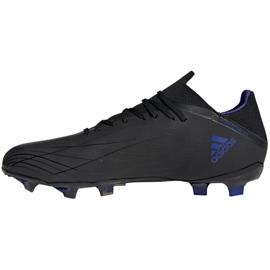 Buty piłkarskie adidas X Speedflow.2 Fg M FY3288 czarne czarny, czarny, fioletowy 2