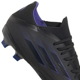 Buty piłkarskie adidas X Speedflow.2 Fg M FY3288 czarne czarny, czarny, fioletowy 4