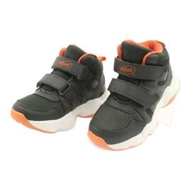 Befado obuwie dziecięce  516X050 pomarańczowe szare 3