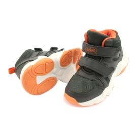 Befado obuwie dziecięce  516X050 pomarańczowe szare 4