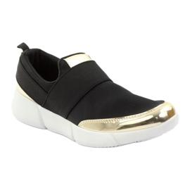 McKey Sportowe buty softshell czarne złote 1