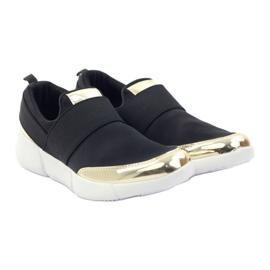 McKey Sportowe buty softshell czarne złote 4