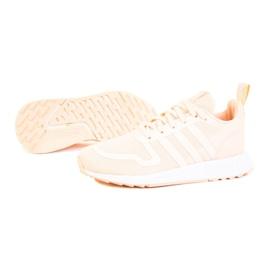 Buty adidas Multix Jr Q47136 białe różowe 1