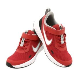 Buty Nike Revolution 5 (PSV) Jr BQ5672-603 czerwone 4