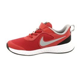 Buty Nike Revolution 5 (PSV) Jr BQ5672-603 czerwone 1