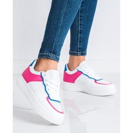 SHELOVET Modne Buty Sportowe białe 1