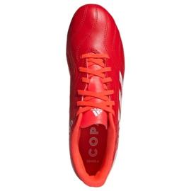 Buty piłkarskie adidas Copa Sense.4 FxG M FY6183 czerwone czerwone 1