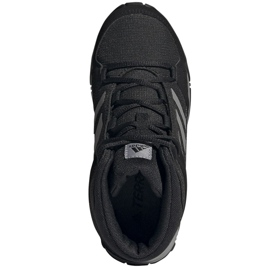Buty adidas Terrex Hyperhiker K Jr FX4186 czarne granatowe 5