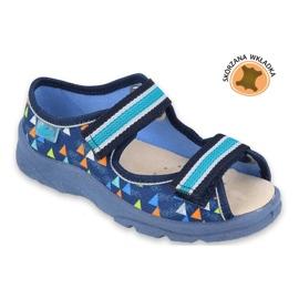 Befado obuwie dziecięce  869X164 niebieskie 2