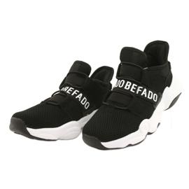 Befado obuwie dziecięce  516Y066 białe czarne 2