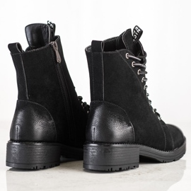 Czarne Workery VINCEZA 5