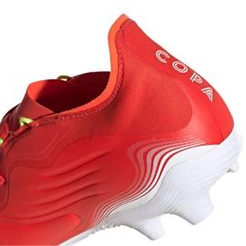 Buty piłkarskie adidas Copa Sense.2 Fg M FY6177 czerwone czerwone 5
