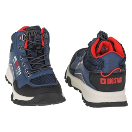 Buty Big Star Youth Shoes Jr II374055 granatowe różowe 2