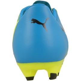Buty piłkarskie Puma evoPOWER 2.3 Fg M 10352801 wielokolorowe żółte 3