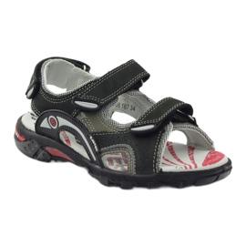 Sandałki chłopięce Bartek 19108 czarne 1