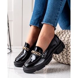 Goodin Czarne Mokasyny Fashion 3