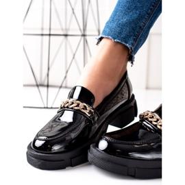 Goodin Czarne Mokasyny Fashion 1