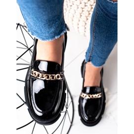 Goodin Czarne Mokasyny Fashion 5