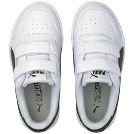 Buty Puma Shuffle V Ps Jr 375689 02 białe czarne 1