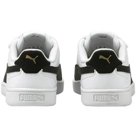 Buty Puma Shuffle V Ps Jr 375689 02 białe czarne 3