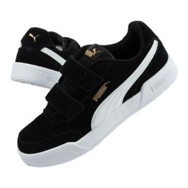 Buty Puma Caracal Jr 370991 01 czarne 2