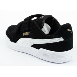 Buty Puma Caracal Jr 370991 01 czarne 4