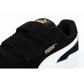 Buty Puma Caracal Jr 370991 01 czarne 5