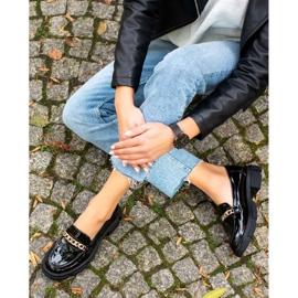 Goodin Czarne Mokasyny Fashion 4