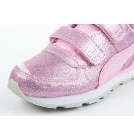 Buty Puma Vista Glitz Jr 369720 11 różowe 5