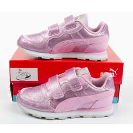 Buty Puma Vista Glitz Jr 369720 11 różowe 9