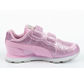Buty Puma Vista Glitz Jr 369721 11 różowe 3