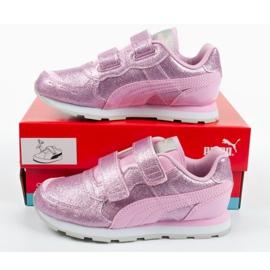 Buty Puma Vista Glitz Jr 369721 11 różowe 9