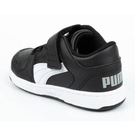 Buty Puma Rebound Jr 370493 02 czarne 4