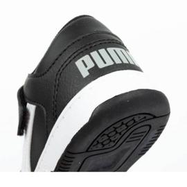 Buty Puma Rebound Jr 370493 02 czarne 6