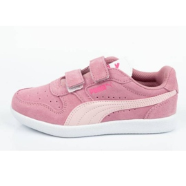 Buty Puma Icra Jr 360756 35 białe różowe 1