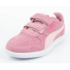 Buty Puma Icra Jr 360756 35 białe różowe 2