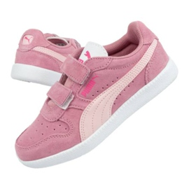 Buty Puma Icra Jr 360756 35 białe różowe 3