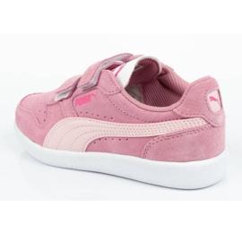 Buty Puma Icra Jr 360756 35 białe różowe 4