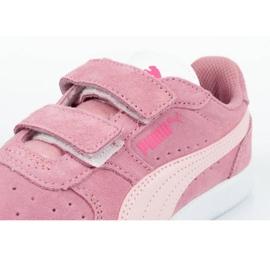 Buty Puma Icra Jr 360756 35 białe różowe 5