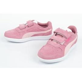 Buty Puma Icra Jr 360756 35 białe różowe 7