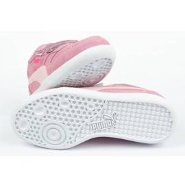 Buty Puma Icra Jr 360756 35 białe różowe 8