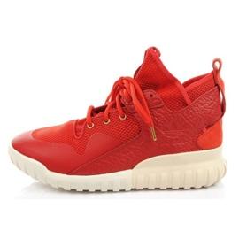 Buty adidas Tubular X Cny AQ2548 czerwone zielone 2