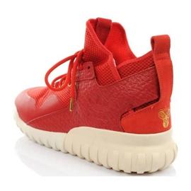 Buty adidas Tubular X Cny AQ2548 czerwone zielone 3