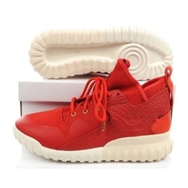 Buty adidas Tubular X Cny AQ2548 czerwone zielone 7