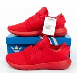 Buty adidas Tubular Viral M S75913 białe czerwone 9