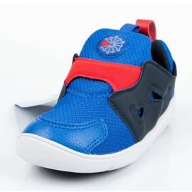 Buty Reebok Ventureflex Slip-on Jr CM9144 czarne niebieskie 1