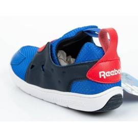 Buty Reebok Ventureflex Slip-on Jr CM9144 czarne niebieskie 4