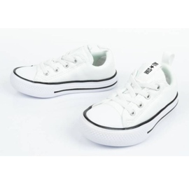 Trampki Converse Jr 763536C]18 białe 7