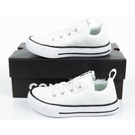 Trampki Converse Jr 763536C]18 białe 9